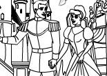 Cinderella Online Coloring Game