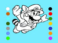 Coloriage De Super Mario
