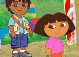 Dora The Explorer – Find The Alphabets