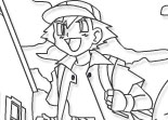 Pokemon Forever – Online Coloring Page