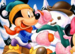 Puzzle Mickey A La Montagne