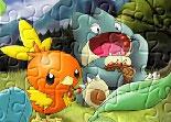 Puzzle Monde Magique Des Pokémon
