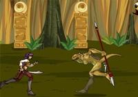 Jeux de combat d'arène