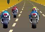 Jeux de course de moto sur route