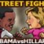 street-fight-obama-hilary